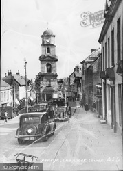 Penryn, The Clock Tower c.1955