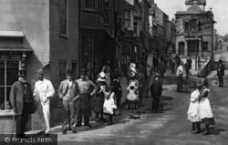 Penryn, The Corner Of Market Street 1890