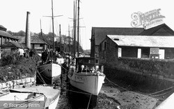 Penryn, The Yacht Basin c.1955