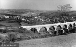Penryn, View From Kernick Road c.1955