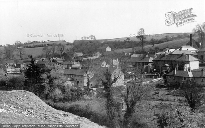 Photo of Penryn, View From New Housing Estate c.1955