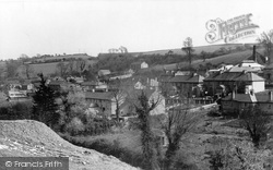 Penryn, View From New Housing Estate c.1955