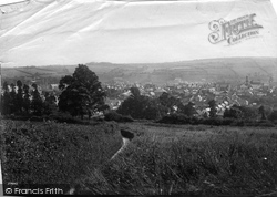 Penryn, View Over The Town 1890