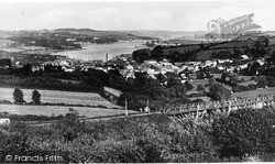 Penryn, View Over The Town c.1932