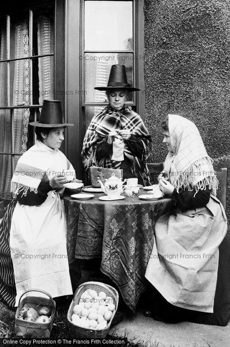 Photo of Pensarn, Welsh Costumes 1906