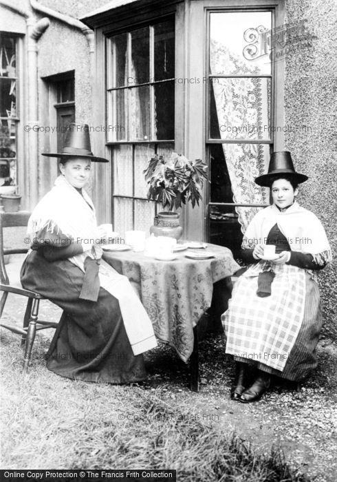 Photo of Pensarn, Women In Welsh Costume 1895