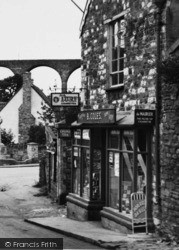High Street, Supply Store c.1955, Pensford