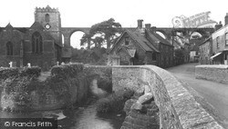 The Church And Viaduct c.1955, Pensford