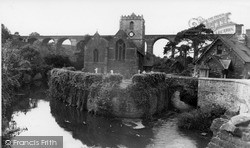 The Church Of St Thomas A Becket c.1955, Pensford