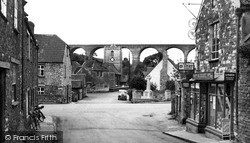 The Village And Viaduct c.1955, Pensford