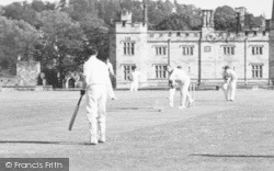 Penshurst, A Game Of Cricket c.1960