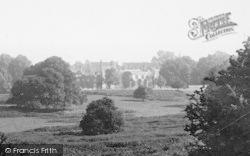 Penshurst, Penshurst Place From The Park 1891