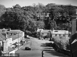 Pentewan, Square From West c.1955