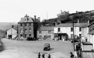 Pentewan, the Square from the East c1955