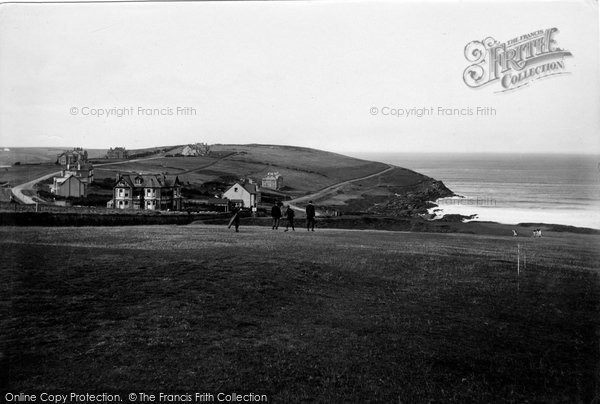 Photo of Pentire, And Golf Links 1918