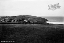 Pentire, And Golf Links 1918