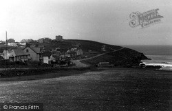 Pentire, Coast From Golf Links c.1955, West Pentire