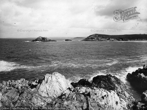 Photo of Pentire, East Pentire And Towan Heads 1936