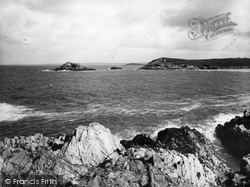Pentire, East Pentire And Towan Heads 1936, West Pentire