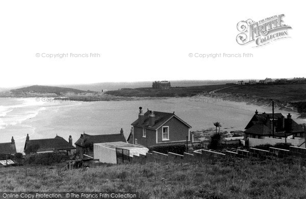 Photo of Pentire, Fistral Bay c.1955