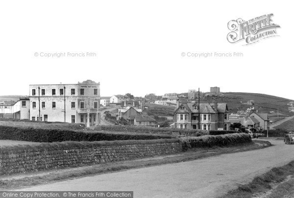 Photo of Pentire, Fistral Bay Hotel c.1955