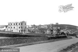 Pentire, Fistral Bay Hotel c.1955, West Pentire