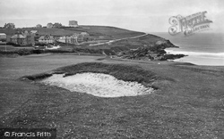 Pentire, From Golf Links 1930