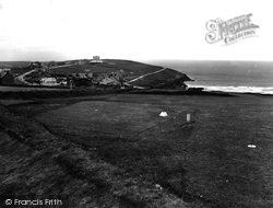 Pentire, From Golf Links 1930, West Pentire