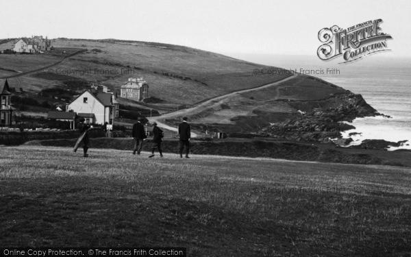 Photo of Pentire, Golfers 1918