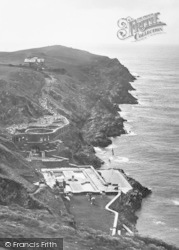 Pentire, Lewinnick Cove House Under Construction 1918, West Pentire