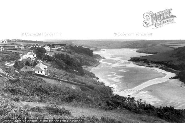 Photo of Pentire, The Gannel c.1955