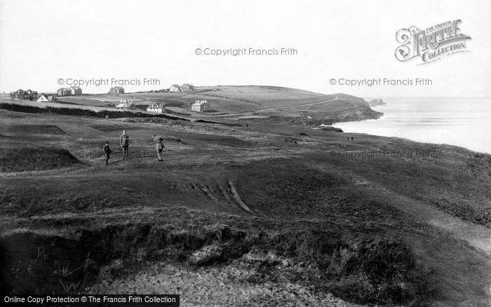 Photo of Pentire, The Golf Links 1918