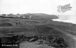 Pentire, The Golf Links 1918, West Pentire