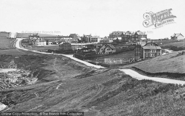 Photo of Pentire, The Town 1925