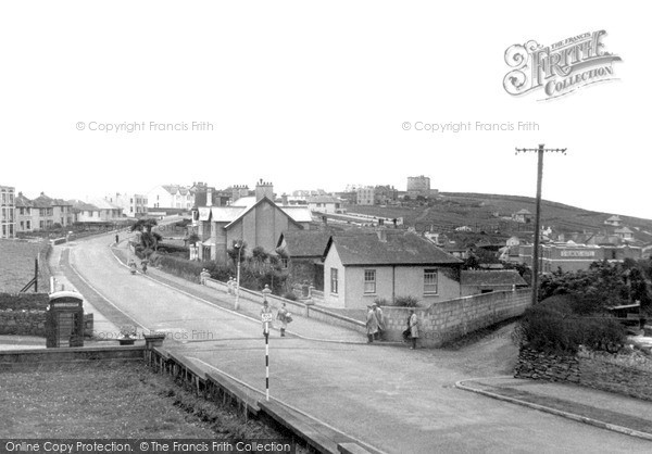 Photo of Pentire, View From Post Office c.1955
