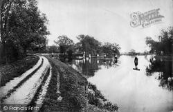 Penton Hook, Above The Lock 1890