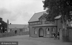 Pentraeth, Panton Arms Hotel And St Mary's Church c.1933