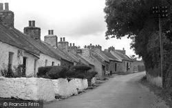 Pentraeth, Quaint Cottages c.1933