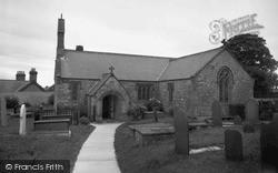 Pentraeth, St Mary's Church 1961