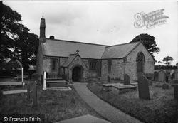 Pentraeth, St Mary's Church c.1933