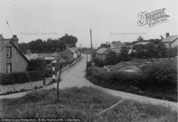 Pentre Halkyn, Village c1955