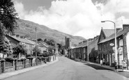 Pentre, St Peter's Church and Carne Street c1965