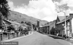 Pentre, St Peter's Church And Carne Street c.1965