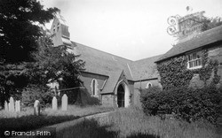 Pentre Voelas, The Church c.1935, Pentrefoelas