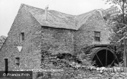 Pentre Voelas, The Old Water Mill c.1955, Pentrefoelas