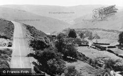Pentredwr, The Horseshoe Pass c.1955