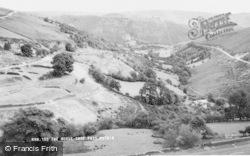 Pentredwr, The Horseshoe Pass c.1960