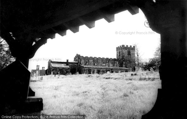 Pentrich, the Church c1960