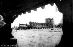 Pentrich, St Matthew's Church c.1960