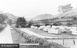 Penybontfawr, Parc Farm Caravan Site c.1955